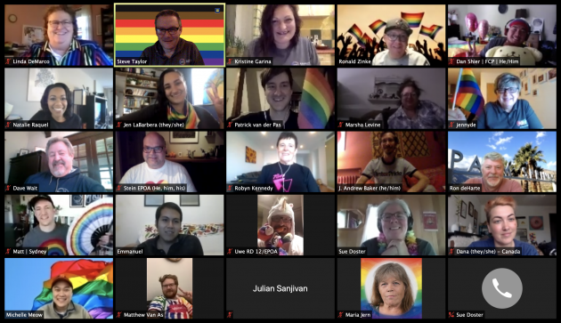Die Organisation des Global Pride 2020