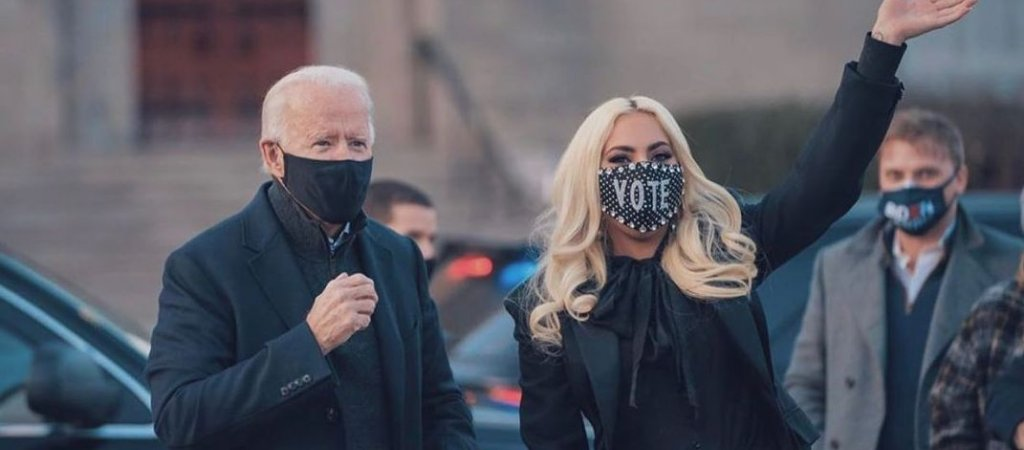 Lady Gagas Performance für Joe Biden und Kamala Harris