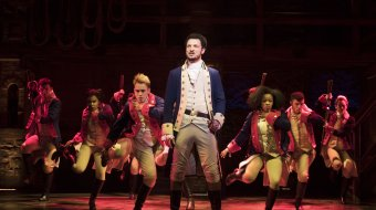 "West End-Cast von ""Hamilton"" // © Matthew Murphy"