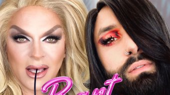 Barbie & Conchita haben nen Bartschatten // © Breakout Press